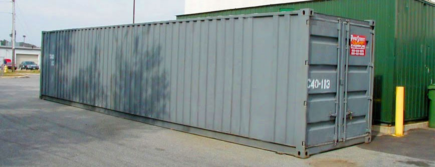 Image of storage containers on Page Street website